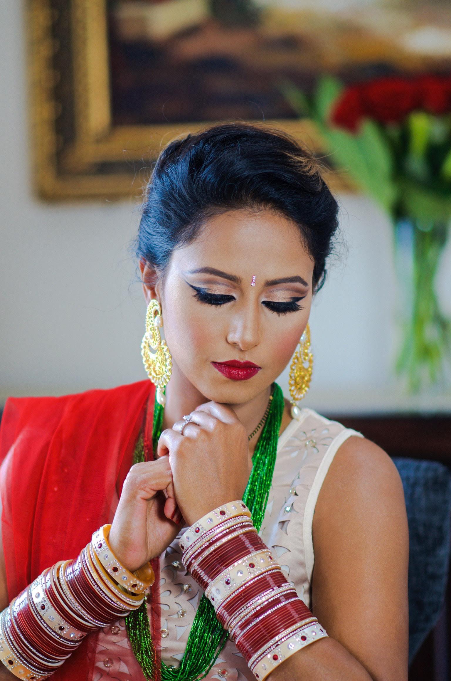 HINDU FESTIVAL (TEEJ) MAKEUP LOOK - Indian Bridal Makeup ...