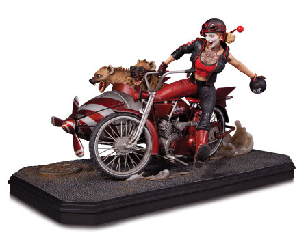 Gotham City Garage Harley Quinn Deluxe Statue (In Stock)