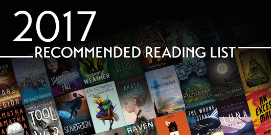 2017 Locus Recommended Reading List