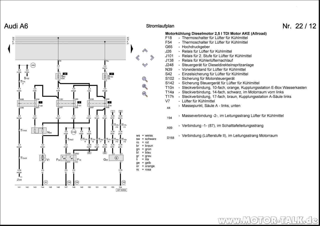 Audi A3 8p Stromlaufplan T U00fcr