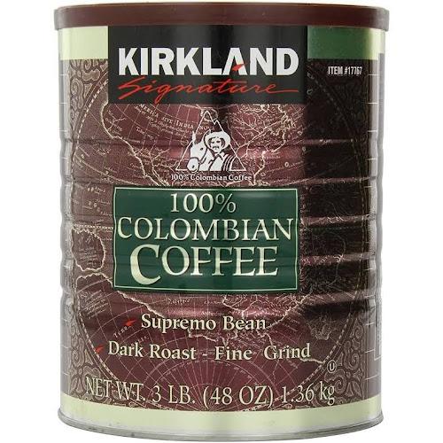 Kirkland Signature 100% Colombian Coffee - 48 oz can