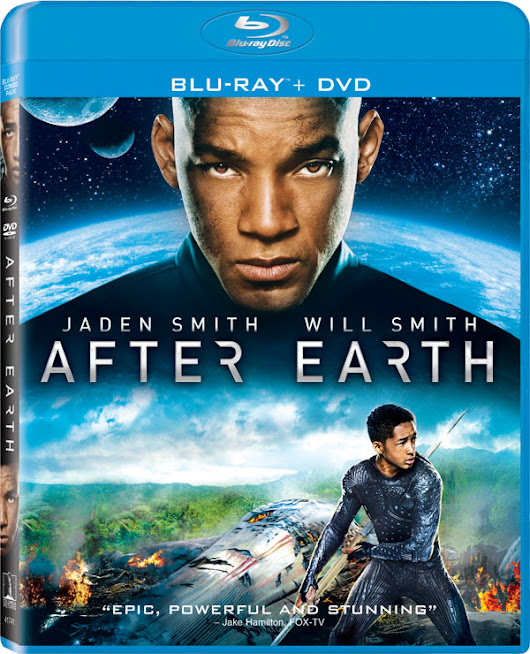 After Earth comes to Blu-ray and DVD on October 8