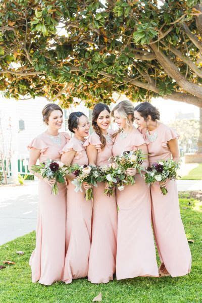 236 best Pink Bridesmaid Dresses images on Pinterest