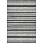 """2'x3'4"""" Stripes Washable Doormat Gray - Maples, Size: 2'x3'4"""""""