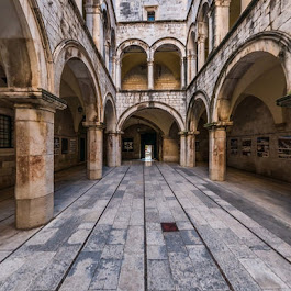 Sponza Palace, Dubrovnik, Croatia  - The First Croatian Stereoscopic Panorama, 2016.