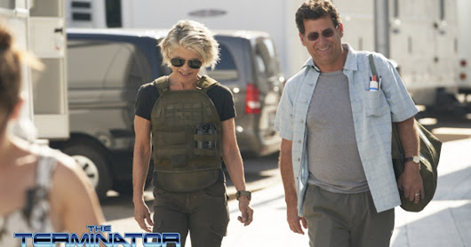 FIRST LOOK: Linda Hamilton is Back as Sarah Connor in Terminator 6 Set Pics