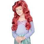Lil Mermaid Red Wig