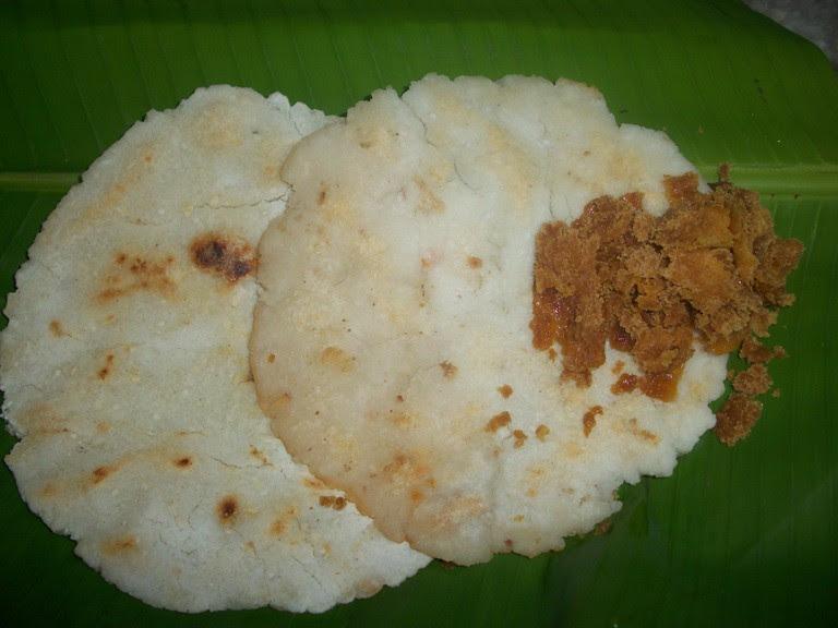 ஓரட்டி / Amma's Rice Flour Adai / Rice Flour Pancakes with ...