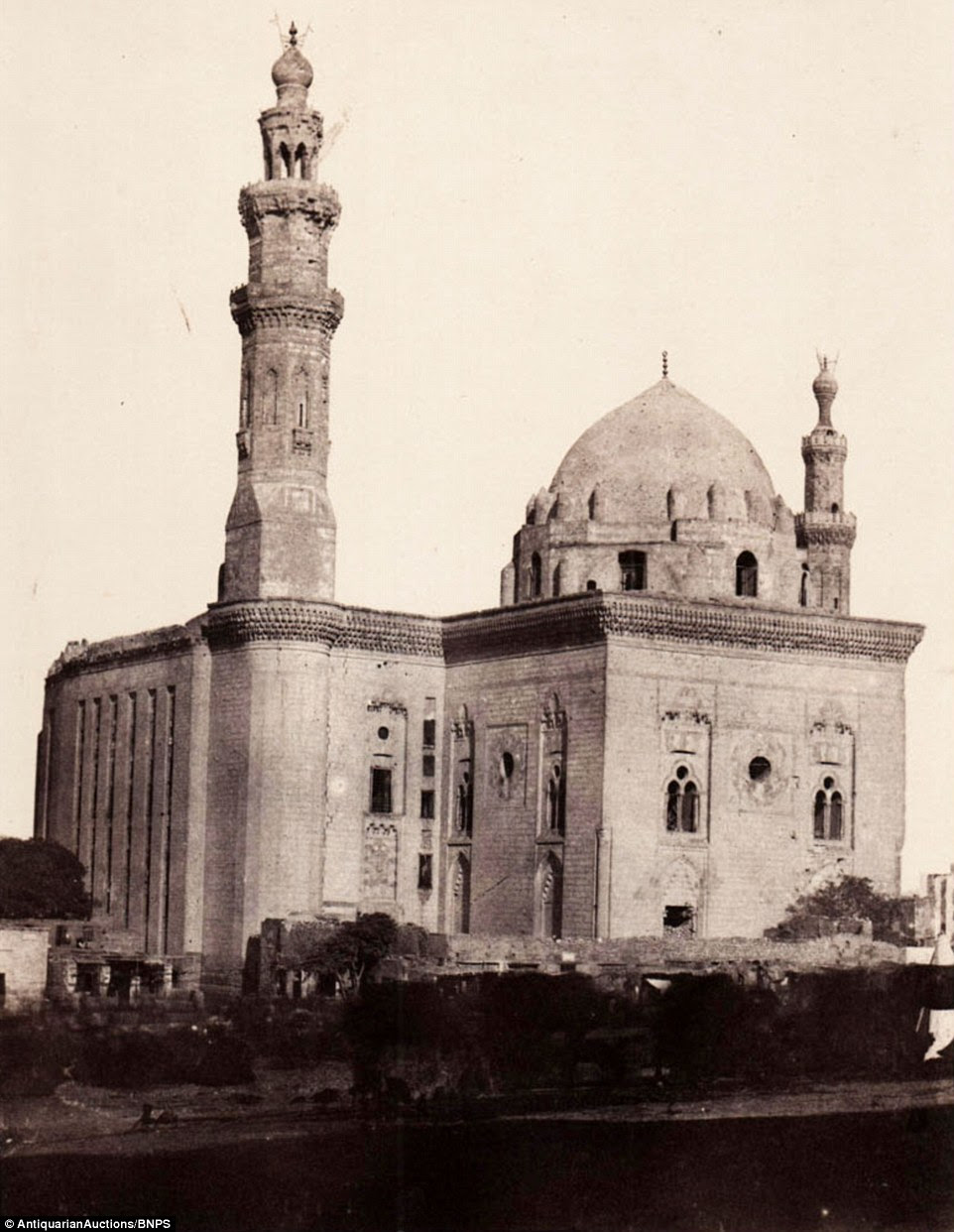 The Mosque of Sultan Hassan, a Mamluk era mosque located near the Citadel in Cairo, is part of a set that offers an extraordinary glimpse into a time when the region was in only the earliest throes of industrialisation