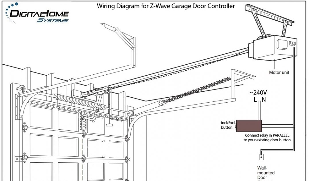 Wiring Diagram Database: Chamberlain Garage Door Opener