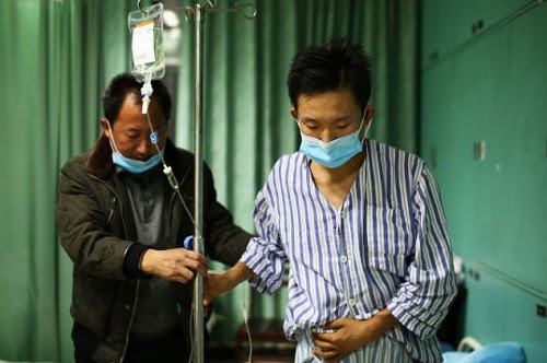 Ο μεγαλύτερος γιός και ο πατέρας στο νοσοκομείο, μετά την μεταμόσχευση