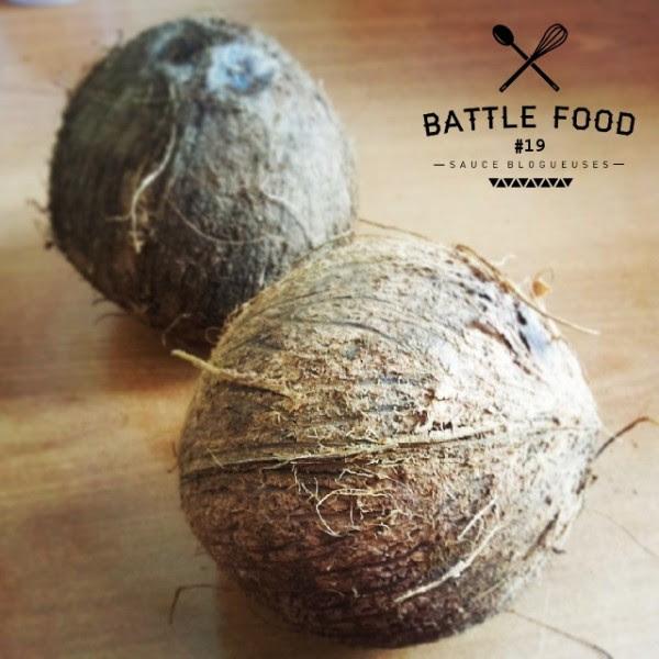 Le thème de la Battle Food 19 est la noix de coco !