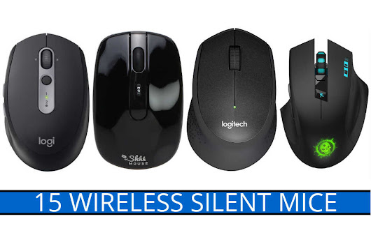 15 Wireless Silent Mice with Quiet-Click/Noiseless Mouse Buttons » TechUserFriendly.com