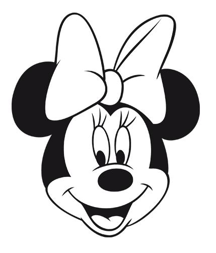 Mickey Y Minnie Para Colorear Caras