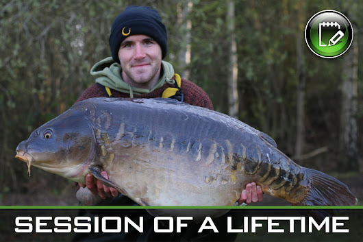 Carp Fishing ~ Session of a Lifetime (number 3) ~ David Gaskin - Gardner Tackle