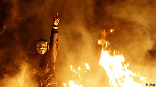 The Economist explains: How Guy Fawkes became the face of post-modern protest | The Economist