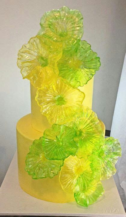 1000  images about Yellow Cakes, Green Cakes on Pinterest