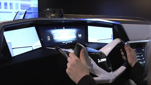 CES 2016: A Ride Inside the Car of the Future - ABC News