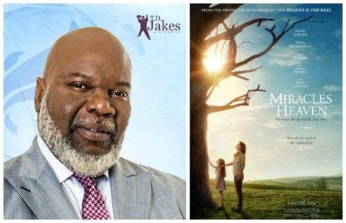 T.D. Jakes Interview for Miracles From Heaven Movie