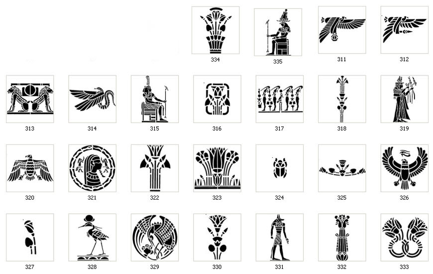 Egyptian Symbols And Their Meanings Tattoos