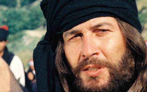 Ο Δημήτρης Παπαμιχαήλ ως Παπαφλέσσας στην ομώνυμη ταινία.