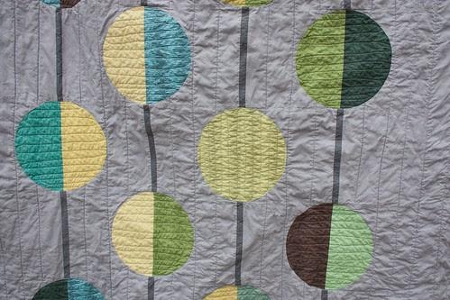 My Better Half quilt - detail