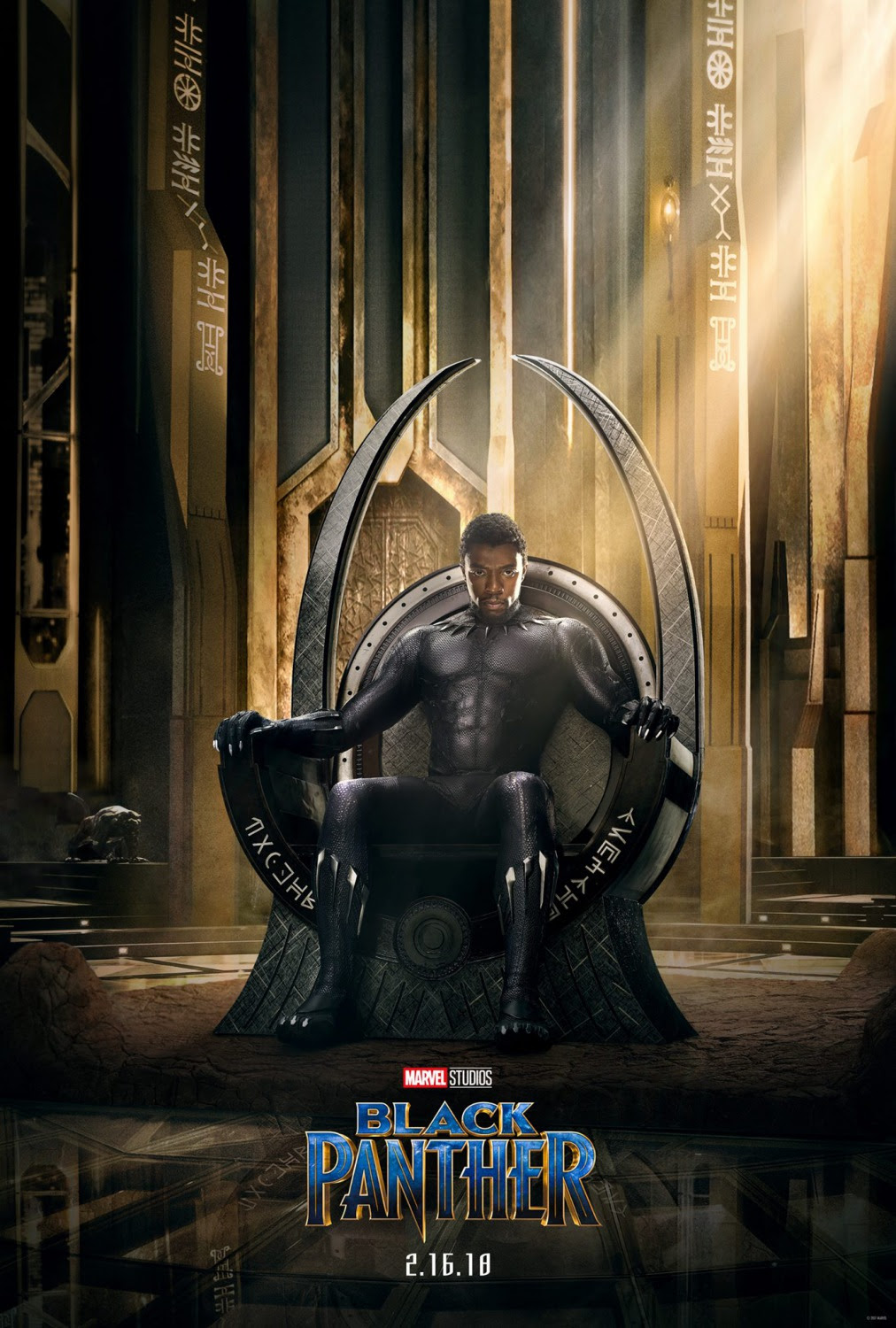 Extra Large Movie Poster Image for Black Panther (#1 of 23)