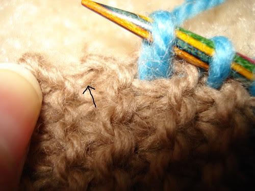 picking up stitches 2