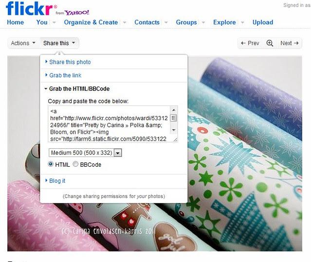 Flickr-blog screenshot 1