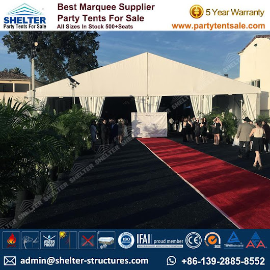 Banquet Marquee for 400 People - Gala Tent for Banquet - Party Tent Sale