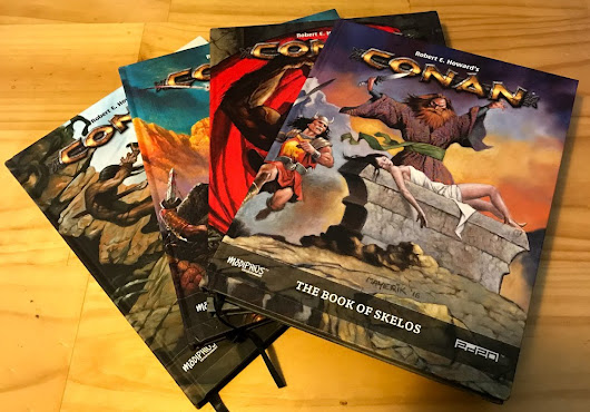 Conan: The Book of Skelos Review - RPG Knights