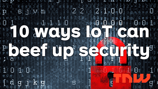 How IoT companies can beef up their data security
