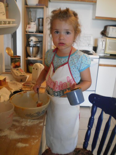 Baking with Wednesday