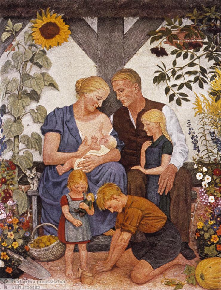 O planejamento familiar dos nazistas
