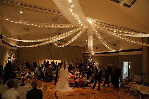 #lds wedding #cultural hall makeover #Novak/Brumley