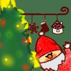 [LINEスタンプ] サンタクロースさん (1)