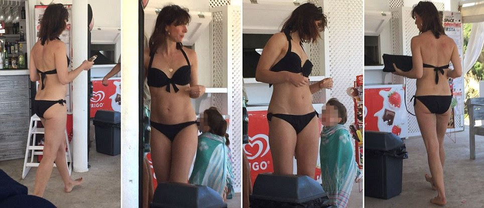 Super glam SamCam, the Ibiza bikini babe (but how DID she get so beach body ready?)