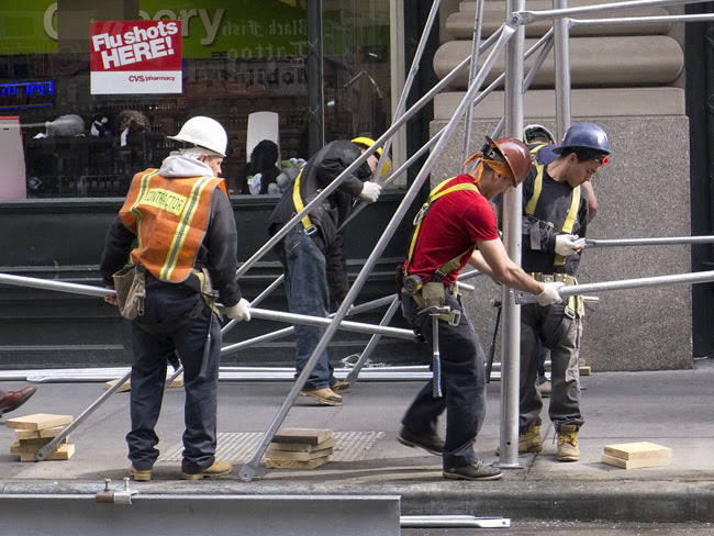 Scaffolding, nyc
