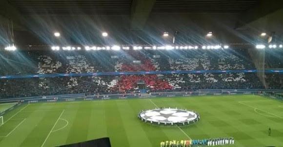 PSG-Chelsea : Le tifo du Parc des Princes raté