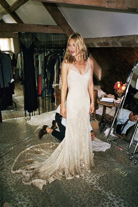 kate moss wedding   Ellis Bridals