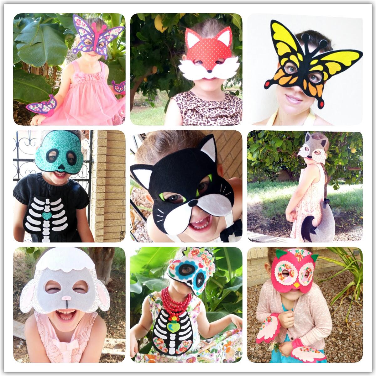 diy handmade felt costumes