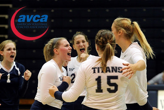 Volleyball: Titans Earn AVCA Team Academic Award for Fifth-Straight Year