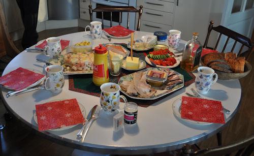 x-mas lunch :: førstedags lunsj