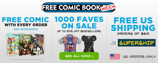 Free Comic Book Week Sale