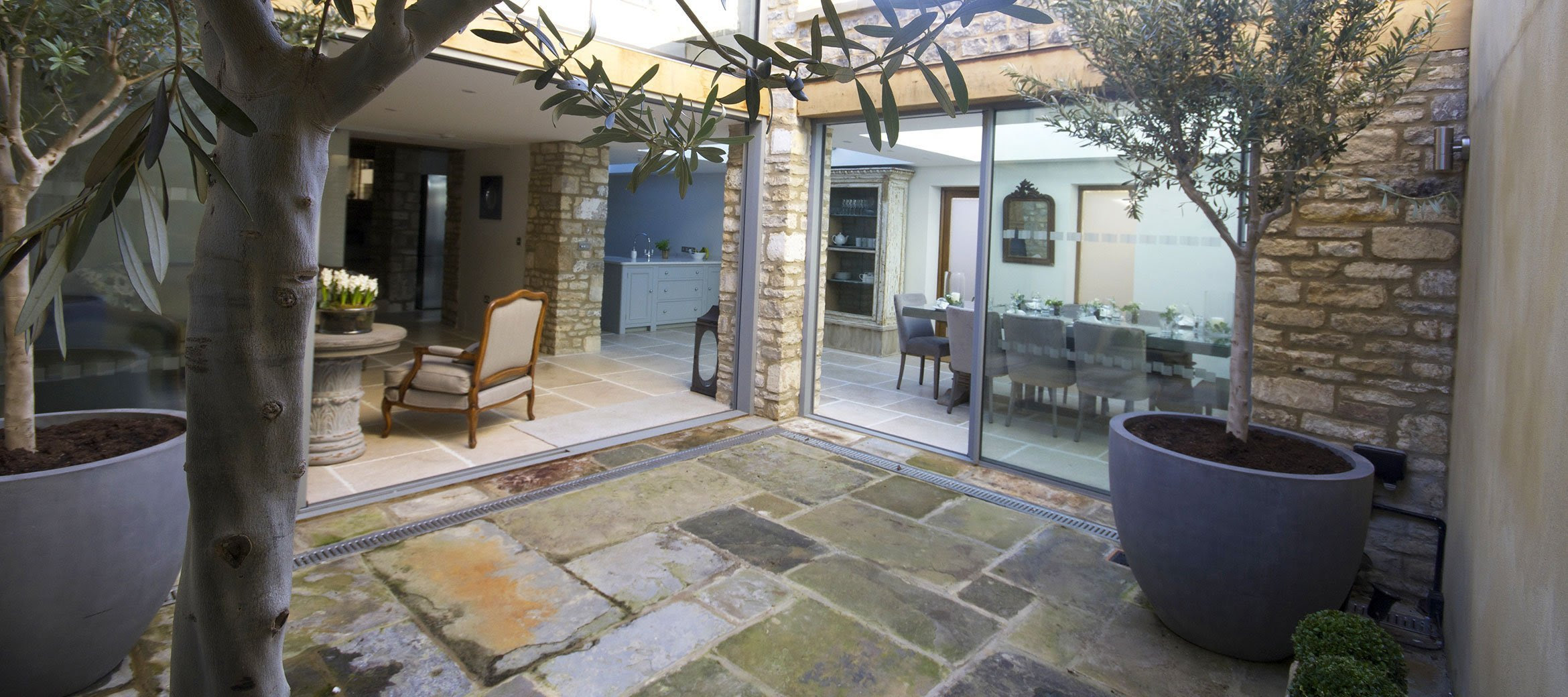 Stunning Cotswold Cottage Courtyard Full Home Tour over on Modern Country Style