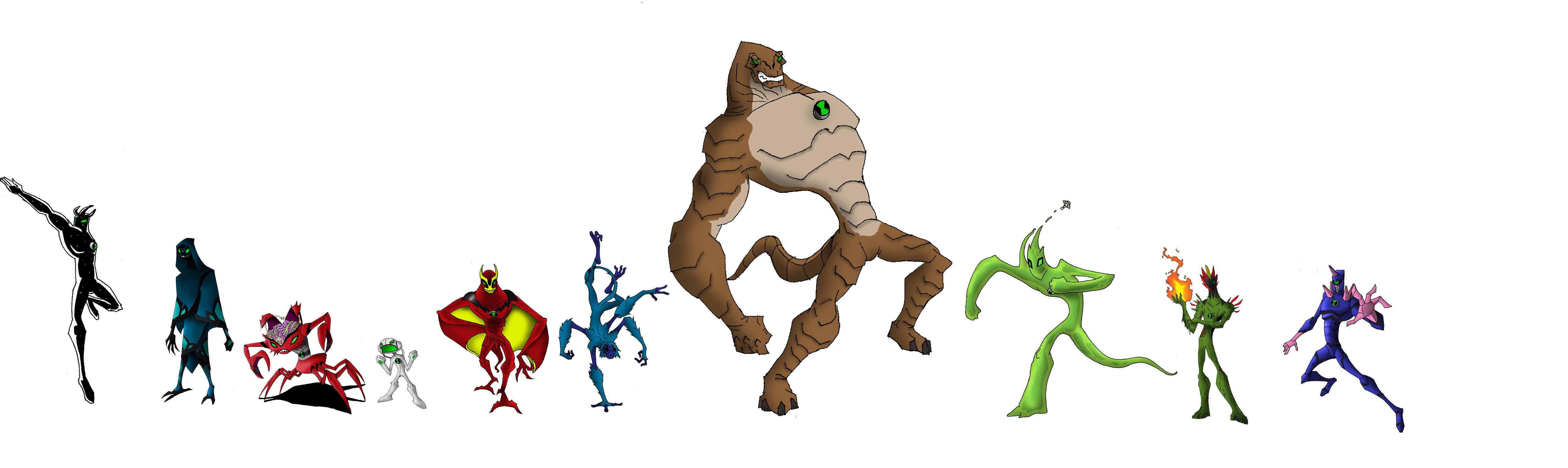 Ben 10 Alien Force Drawing At Getdrawings Free Download