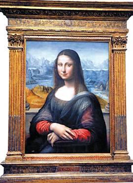 """A versão da """"Mona Lisa"""" apresentada ontem pelo Museu do Prado, em Madri"""