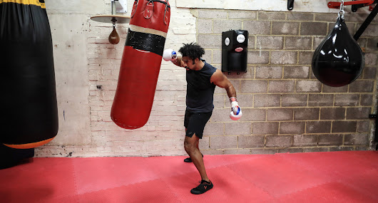 """This isn't an easy workout"": Training with David Haye 