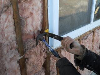 Removing Summer Kitchen Window