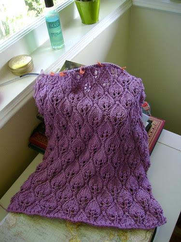 woodland shawl